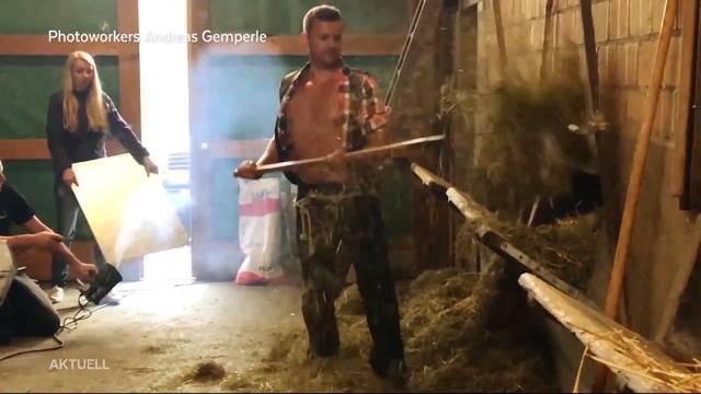Sexy Bauer aus dem Aargau schafft es in den Bauernkalender 2019