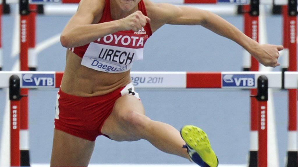 Lisa Urech bei einem ihrer grössten Erfolge: Neunte an den WM 2011 in Daegu