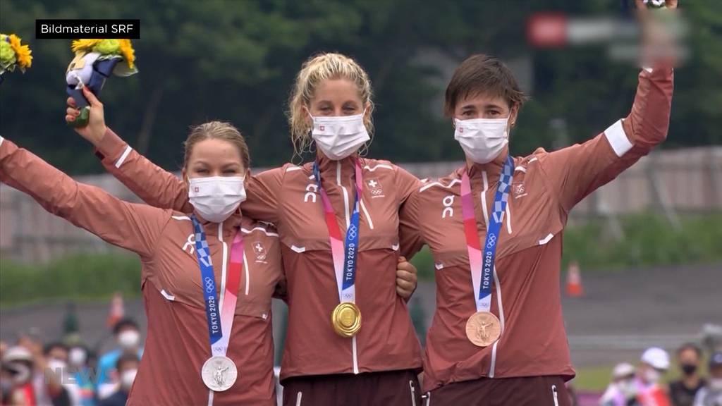 9 von 12 Medaillen: Die Schweizer Frauen brillieren an den Olympischen Spielen in Tokio