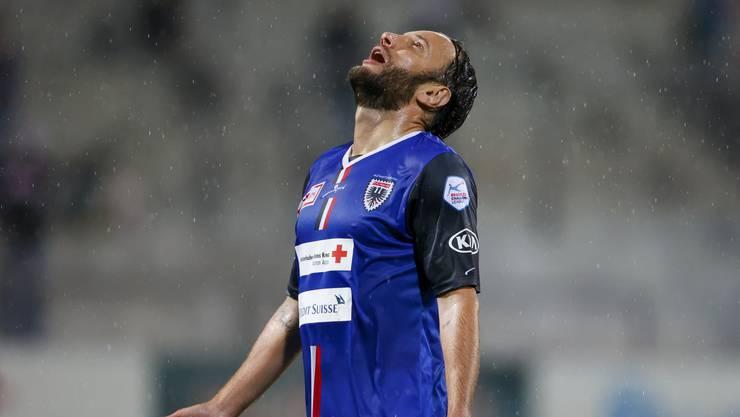 Der FC Aarau muss gegen GC auf seinen Goalgetter Gashi verzichten