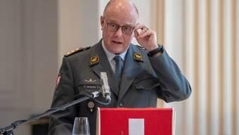 Der Chef der Armee, Philippe Rebord, sorgt sich um sinkende Armeebestände und sieht gar die Auftragserfüllung gefährdet.