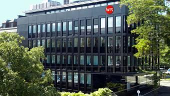 Der Hauptsitz der genossenschaftlichen Bank WIR befindet sich in Basel.