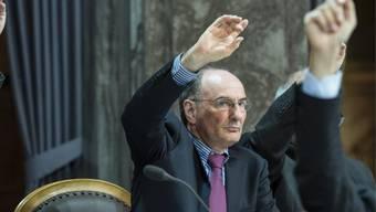 FDP-Mann Felix Gutzwiller für den Kanton Zürich im Ständerat