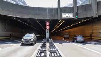 Nordportal des Gotthard-Strassentunnels (Archiv)