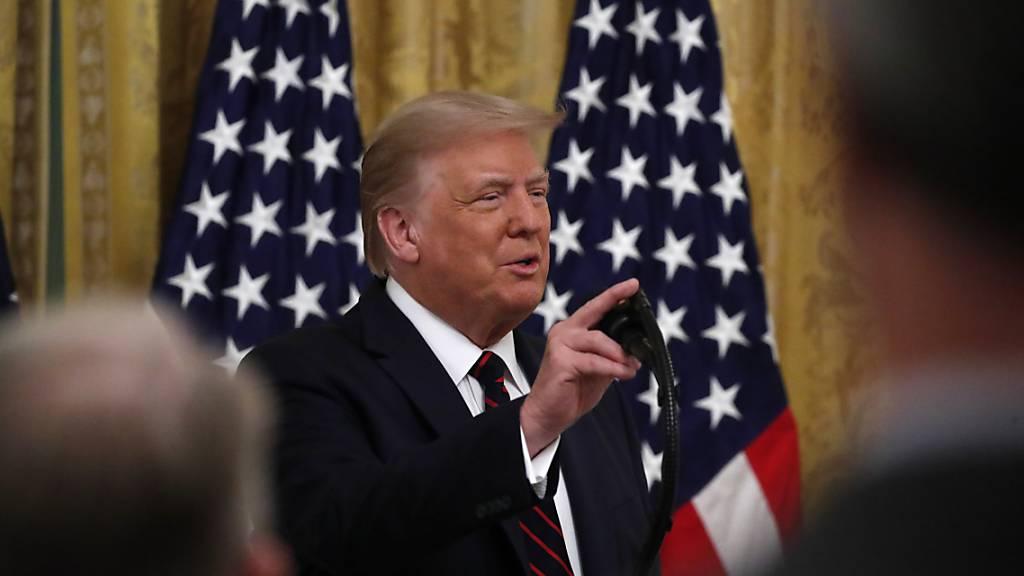 Trump will noch ein viertes TV-Duell mit Herausforderer Biden