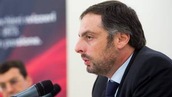 Marcelo Kalim, Finanzchef von BTG Pactual, an der Pressekonferenz