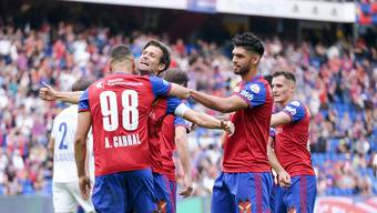 Die vier Rückkehrer Cabral, Stocker, Alderete und Xhaka bringen den FCB wieder zum Jubeln.