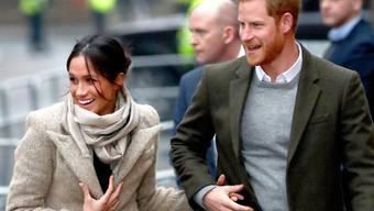 Alle Zeichen stehen auf Frühling. Sogar die ausgewählte Hochzeitstorte von Prinz Harry und Meghan Markle soll danach schmecken. (Archivbild)