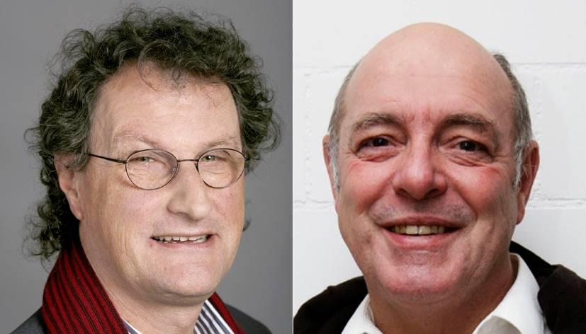 Geri Müller und Ulrich Giezendanner diskutieren die Vorschläge von Doris Leuthard
