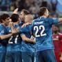 Die Spieler von Zenit St. Petersburg haben allen Grund zum Feiern
