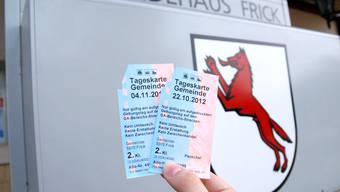 Auch die Einwohnerinnen und Einwohner von Frick können von SBB-Tageskarten profitieren – und nützen dieses Angebot gerne. ras