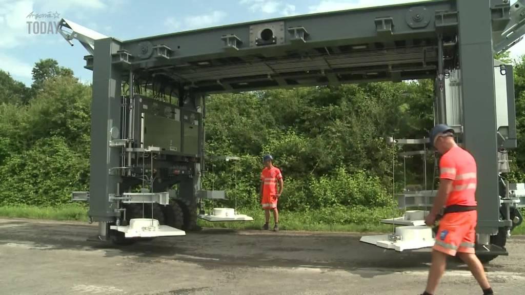 Mobile Brücken sollen Baustellen-Stau auf Autobahnen reduzieren