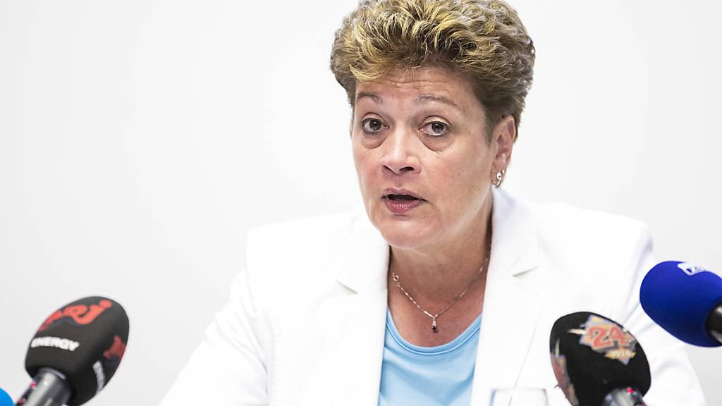Regierungspräsidentin Silvia Steiner (CVP) (Archivbild)