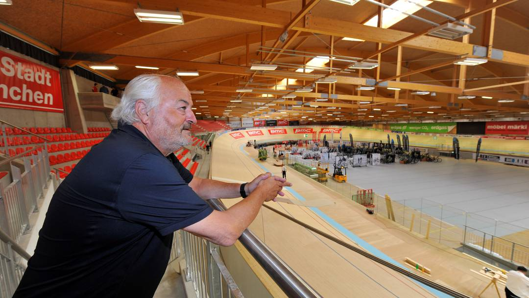 Unternehmer Andy Rihs freut sich auf die Eröffnung des Velodromes