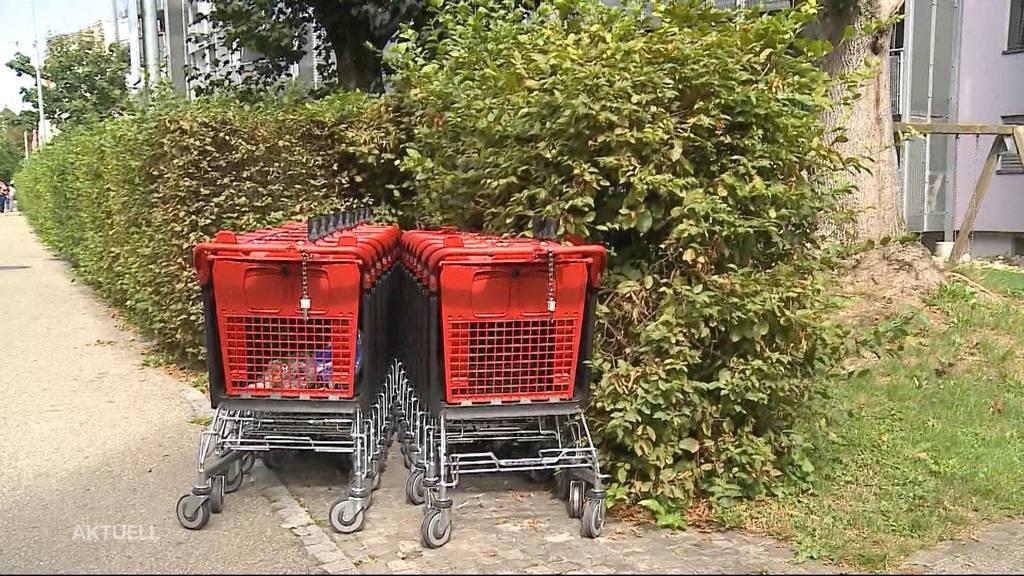Busse für Einkaufswägeli-«Diebstahl»