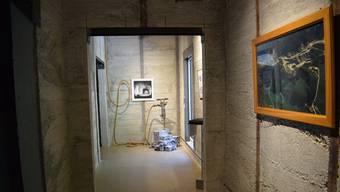 Museum SiLO 12 in Läufelfingen mit einer Ausstellung zum Gipsabbau in Zeglingen.