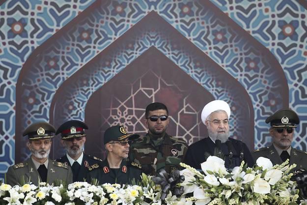 Irans Ministerpräsident Hassan Rohani dürfte das nicht gefallen.