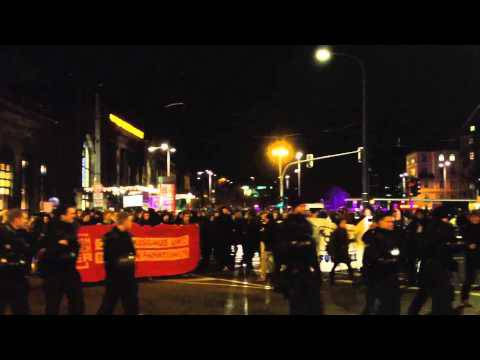Dresden: Pegida-Kundgebung und Gegendemonstrationen