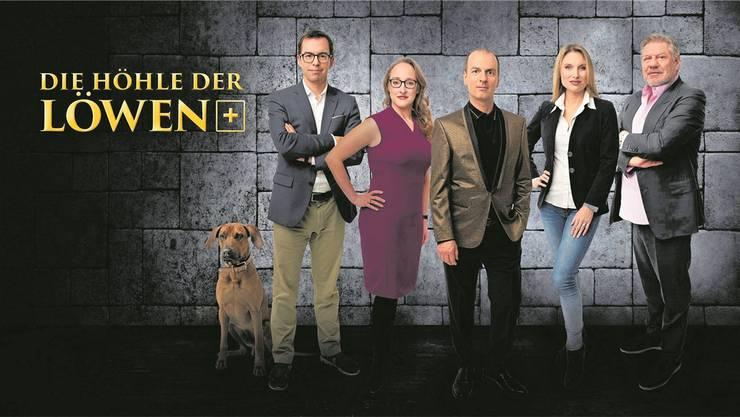 Wollen ihr Geld in Jungunternehmer investieren (von links): Tobias Reichmuth, Bettina Hein, Roland Brack, Anja Graf und Jürg Marquard.