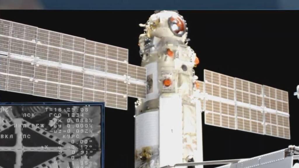 Roskosmos: Nach Panne ist wieder alles in Ordnung auf der ISS