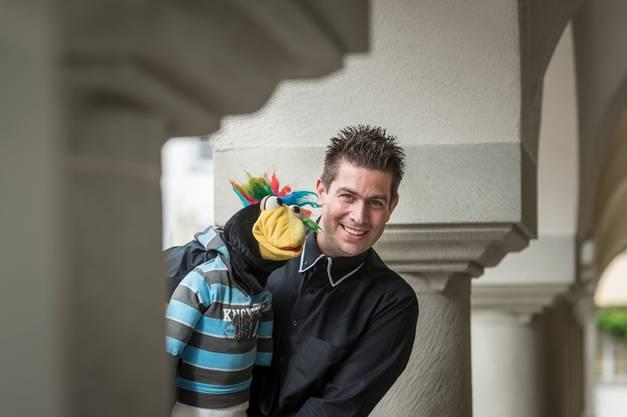 Bauchredner und Kliby-Freund Marco Knittel.