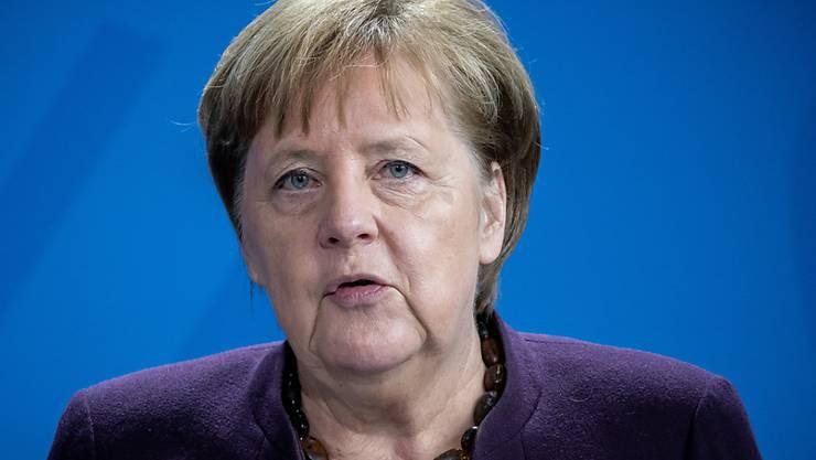 Not amused: die deutsche Kanzlerin Angela Merkel.