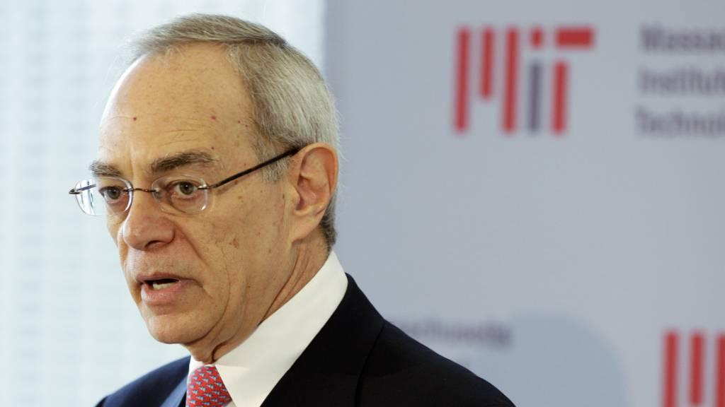 Präsident von MIT räumt Dankesschreiben an Epstein ein