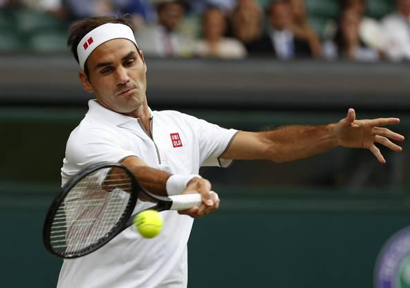 Roger Federer trifft im heutigen Achtelfinal auf den Italiener Matteo Berrettini (ATP 20) - somit auf einen für ihn unbekannten Gegner.