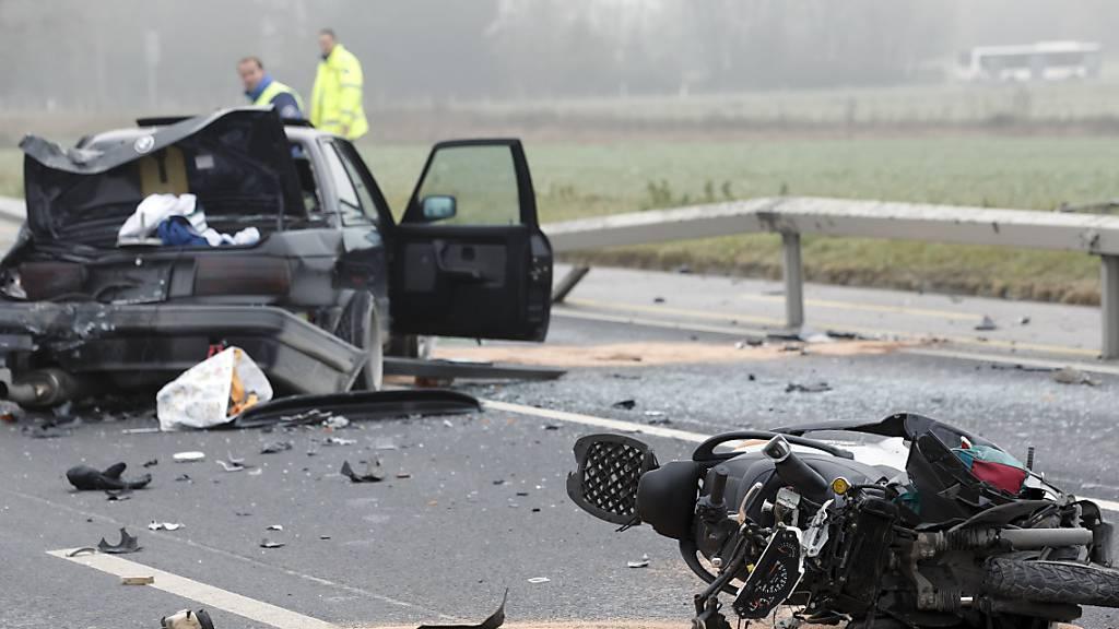 Weniger Unfälle im Strassenverkehr – Art der Unfälle altersabhängig