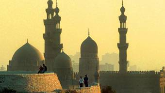 "Blick vom Park des ""Sunniten-Vatikans"" Al-Azhar in Kairo"