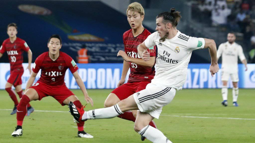 Dreifachtorschütze Gareth Bale bringt Real Madrid kurz vor der Halbzeit auf Finalkurs