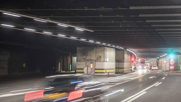Am Gotthard hat sich die Verkehrslage auf der Autobahn A2 nach dem Osterstau wieder normalisiert. (Archivbild)