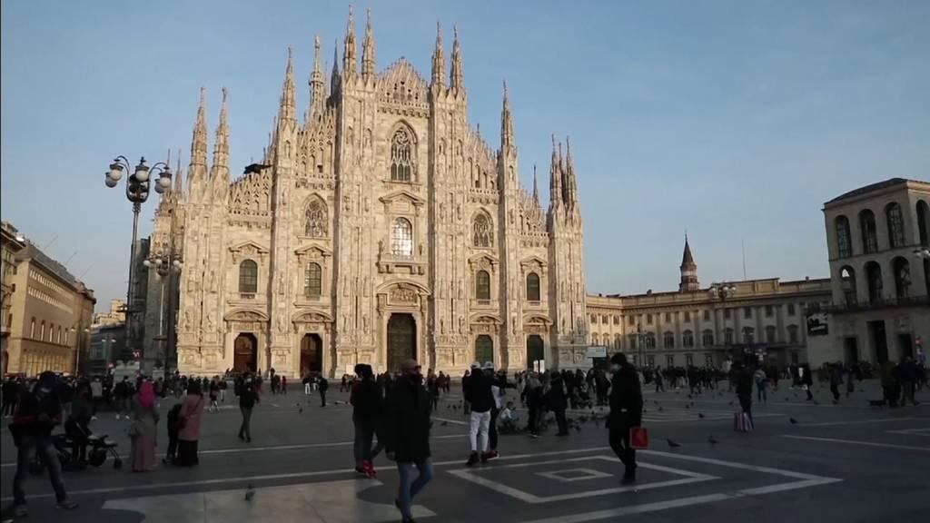 Italien geht ab Montag erneut in den Lockdown