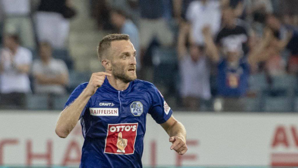 Christian Schneuwly spielt nicht mehr für den FC Luzern