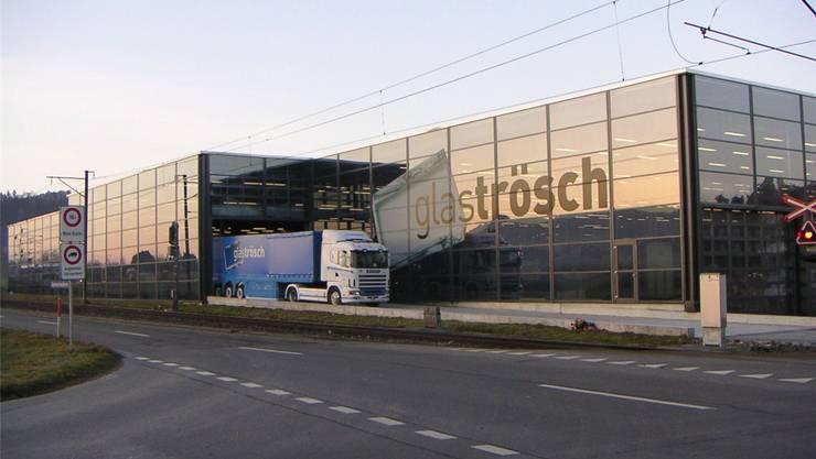 Das Erweiterungsvorhaben von Glas Trösch in Oberkulm verzögert sich. zvg