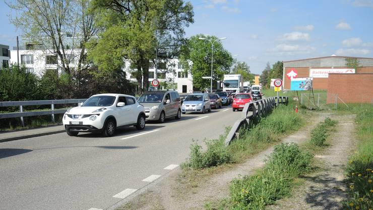 Die Kantonsstrasse in Laufenburg wird saniert. (Archivbild)