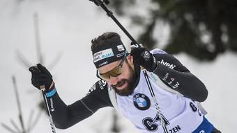 Erneut in den Top Ten: Biathlet Benjamin Weger