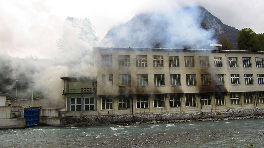 Brand in Textilbetrieb in Glarus