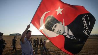Hätte kaum Freude an den jüngsten Plänen für eine islamische Verfassung: Der Gründer der modernen Türkei, Mustafa Kemal Atatürk. (Archivbild)