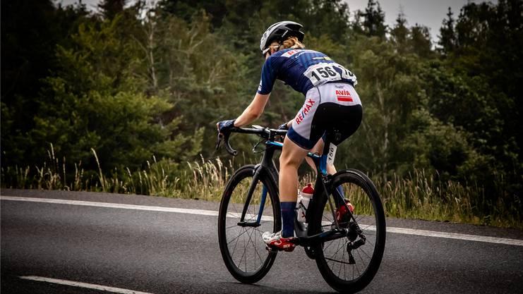 Sandra Weiss betreibt seit 21 Jahren Radrennsport.