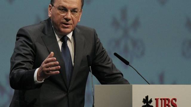 UBS-Verwaltungsratspräsident Axel Weber will sauberes Geld (Archiv)