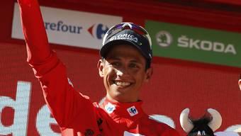 Weiterhin Leader der Vuelta: Esteban Chavez