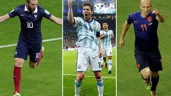 Die Stars sorgen für ein Offensivspektakel an der Fussball-WM in Brasilien.