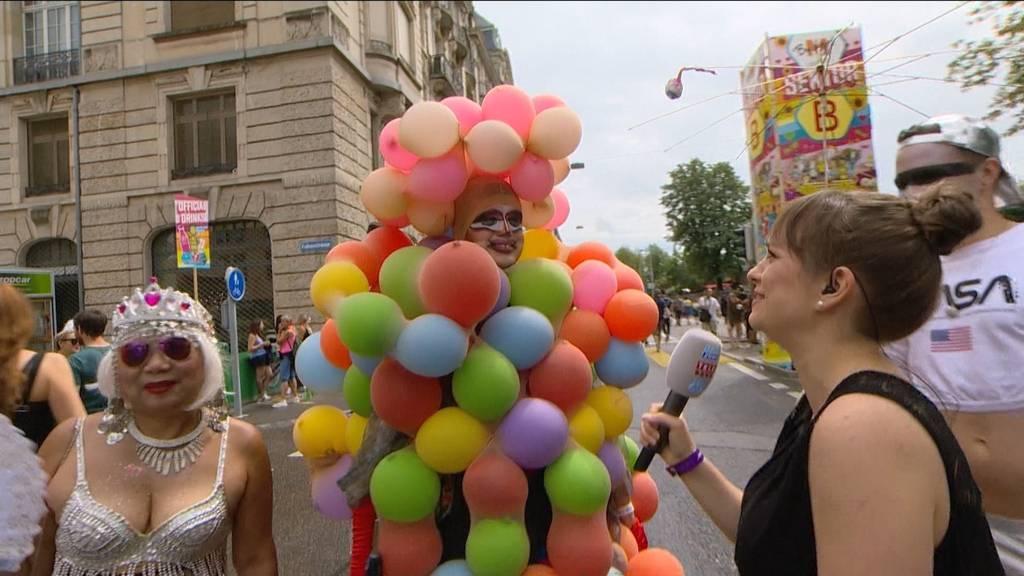 Street-Parade-Kostüme: Schräg, schräger, Kindergeburtstag-Molekül!