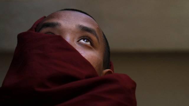Ein tibetischer Mönch (Symbolbild)