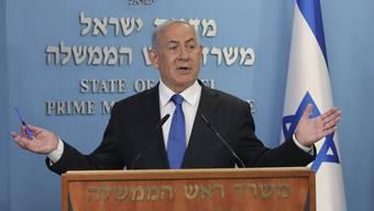 Überraschungscoup gelungen: Israels Premier Benjamin Netanjahu schliesst Frieden mit den Vereinigten Arabischen Emiraten.