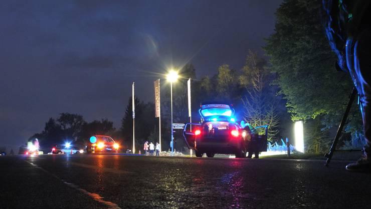 Zum Unfall kam es an der Kreuzung, die von der Kantonsstrasse in Schinznach-Bad zum Thermalbad führt.