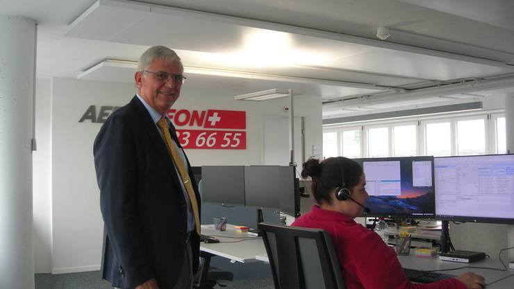 Das Ärztefon-Callcenter in Zürich Oerlikon. Die GLP ortet Handlungsbedarf.