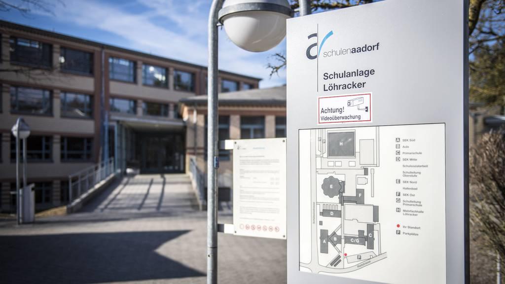 An der Sekundarschule Aadorf wurden Drohbriefe verschickt.