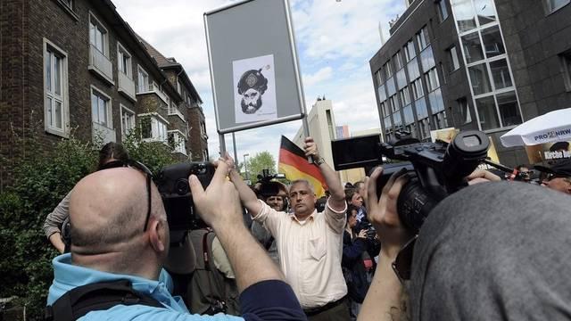 Pro NRW-Demonstranten in Köln (Archiv)